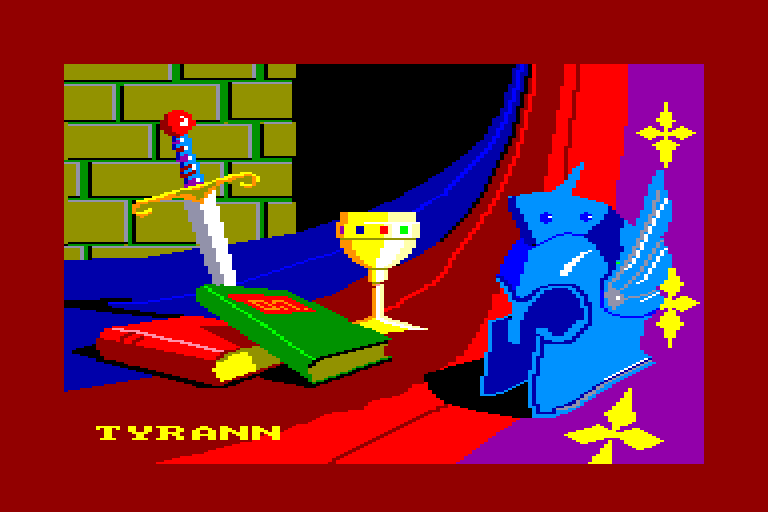 screenshot of the Amstrad CPC game Tyrann by GameBase CPC
