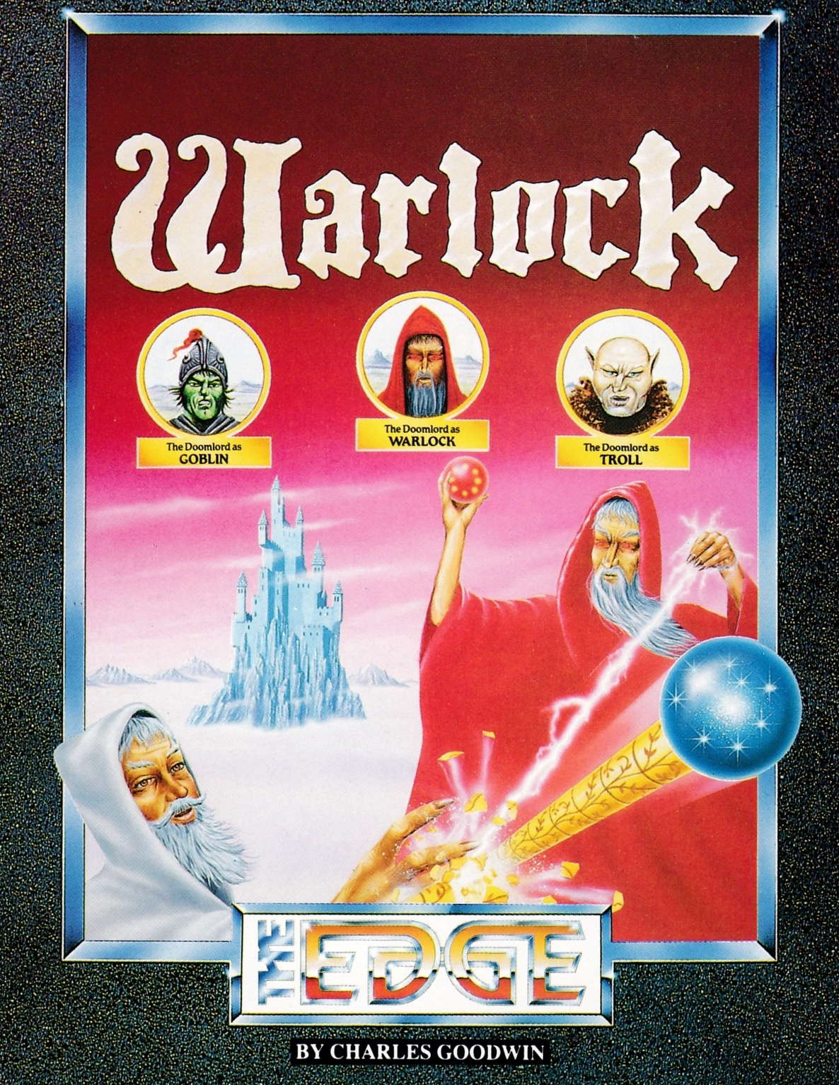 screenshot of the Amstrad CPC game Warlock by GameBase CPC