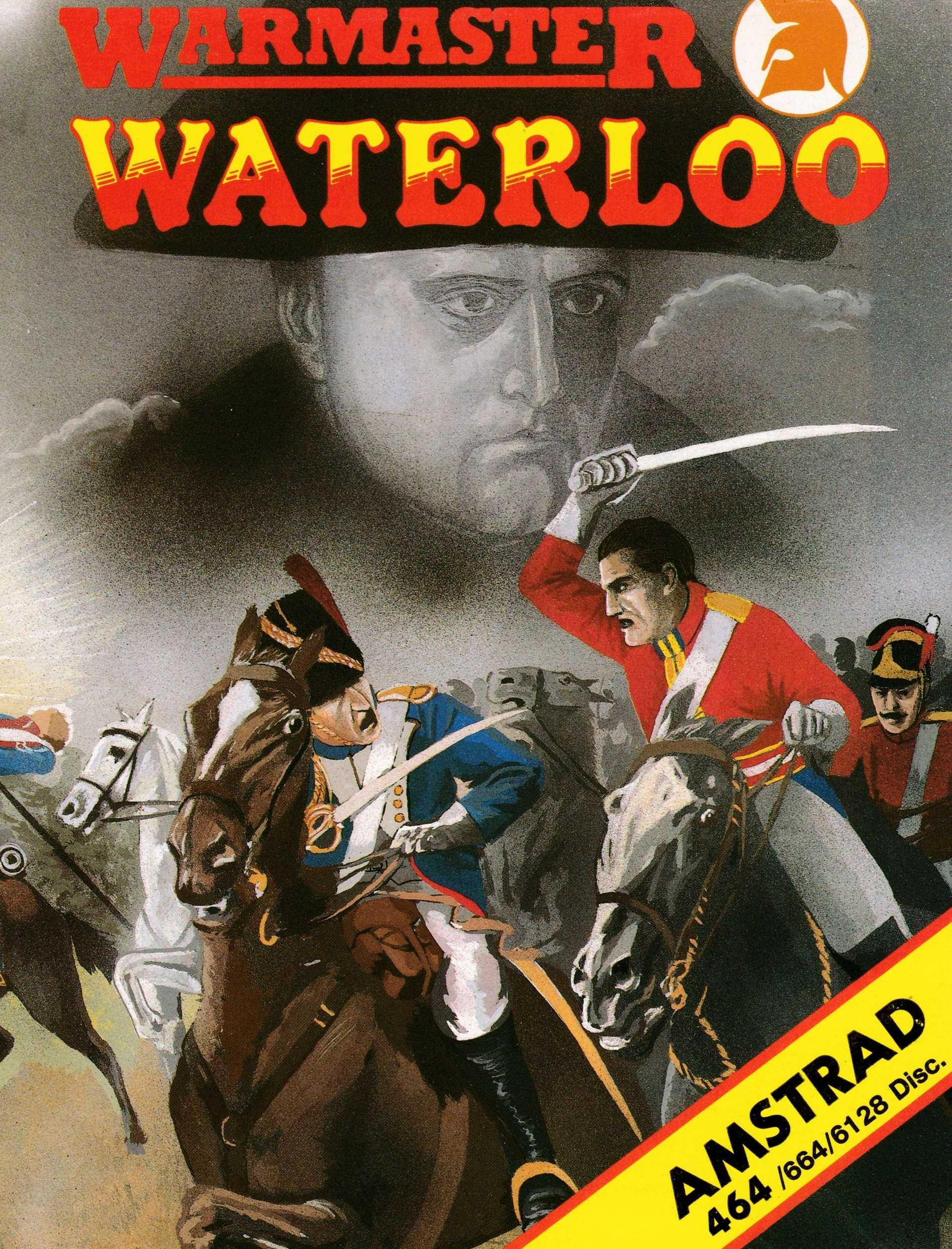 screenshot of the Amstrad CPC game Waterloo by GameBase CPC