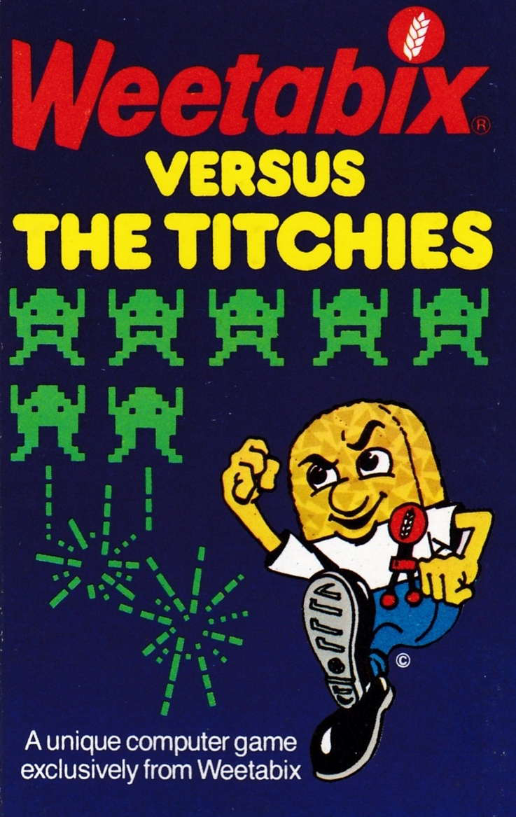 screenshot of the Amstrad CPC game Weetabix vs the titchies by GameBase CPC