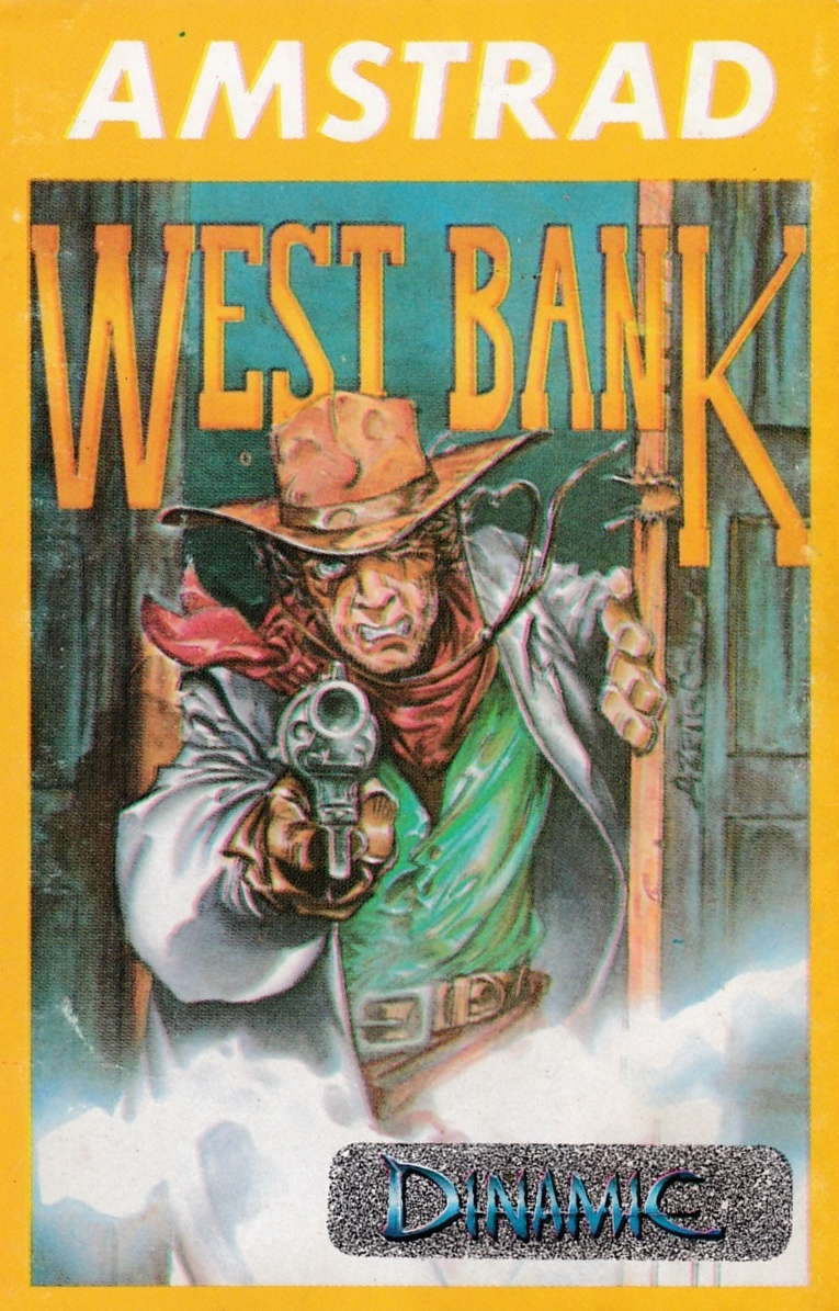 screenshot of the Amstrad CPC game West Bank by GameBase CPC