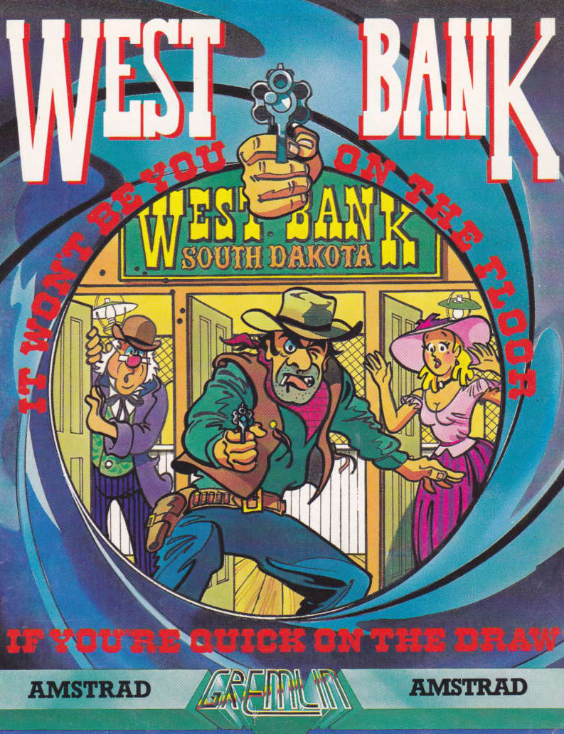 cover of the Amstrad CPC game West Bank  by GameBase CPC