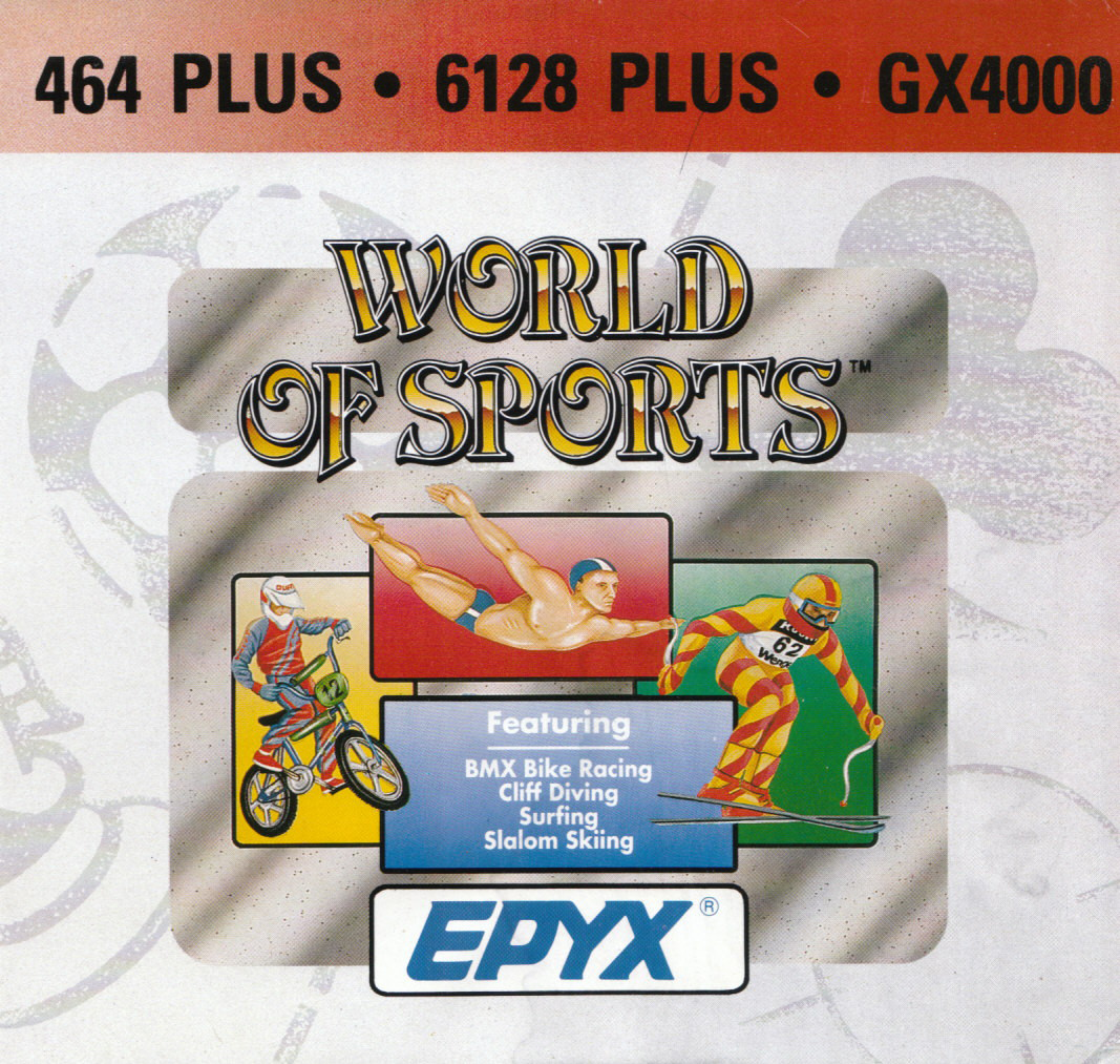 screenshot of the Amstrad CPC game Epyx World Of Sports by GameBase CPC
