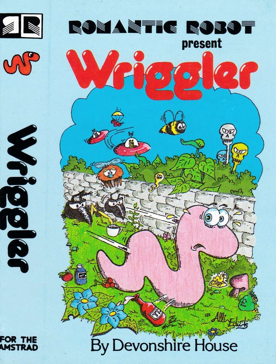 cover of the Amstrad CPC game Wriggler  by GameBase CPC