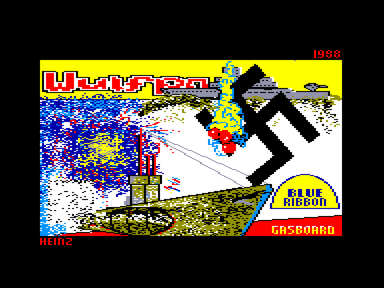 screenshot of the Amstrad CPC game Wulfpack by GameBase CPC