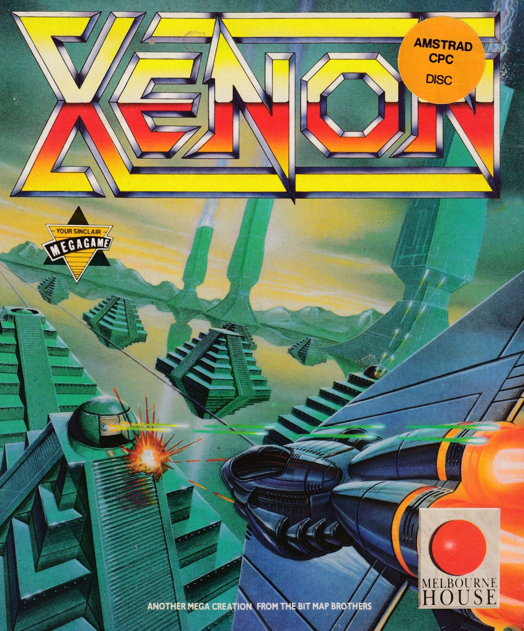 cover of the Amstrad CPC game Xenon  by GameBase CPC