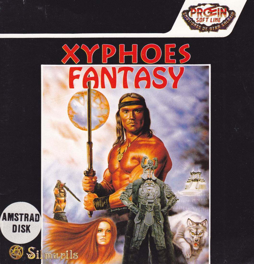 cover of the Amstrad CPC game Xyphoes Fantasy  by GameBase CPC