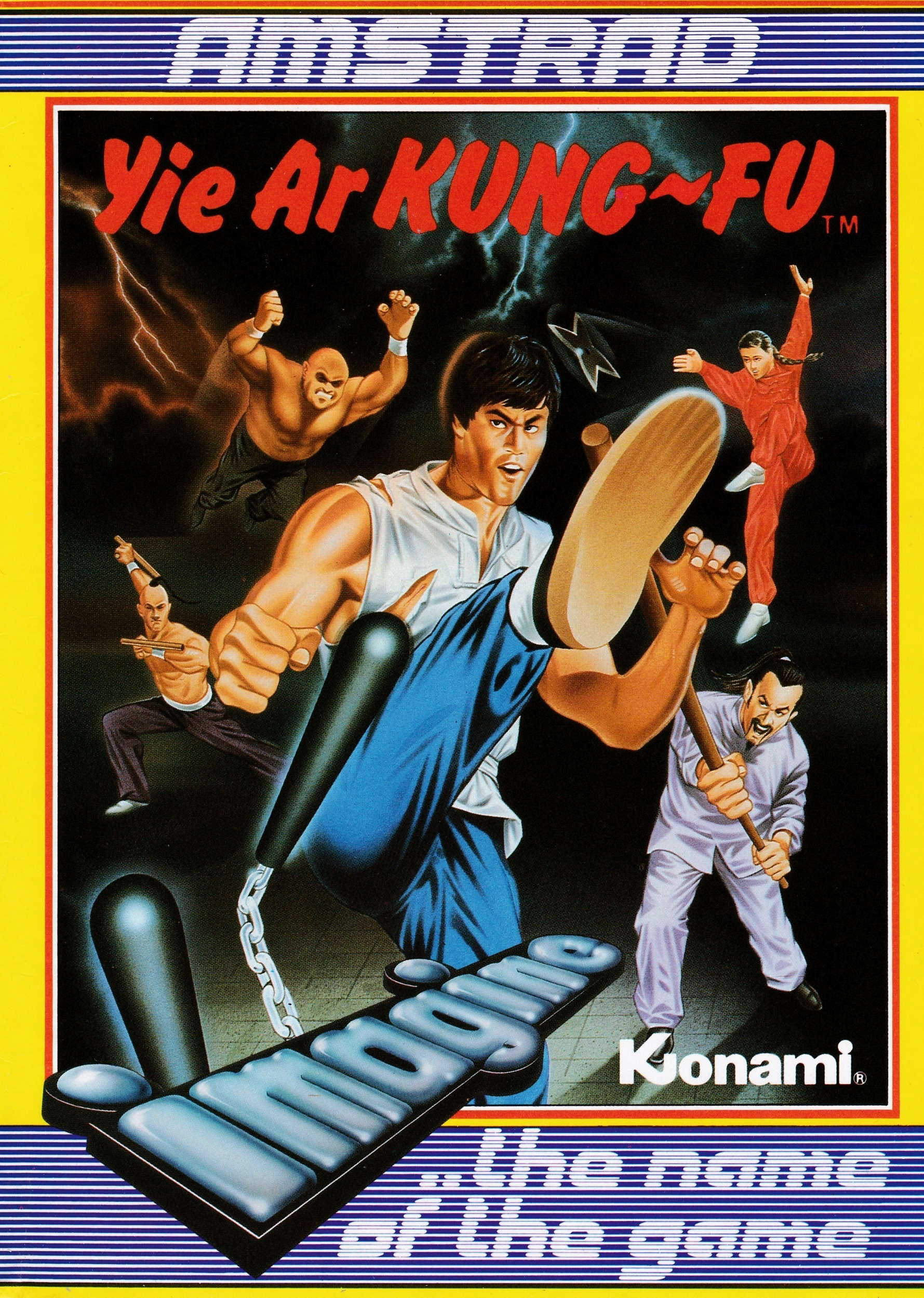cover of the Amstrad CPC game Yie Ar Kung Fu  by GameBase CPC