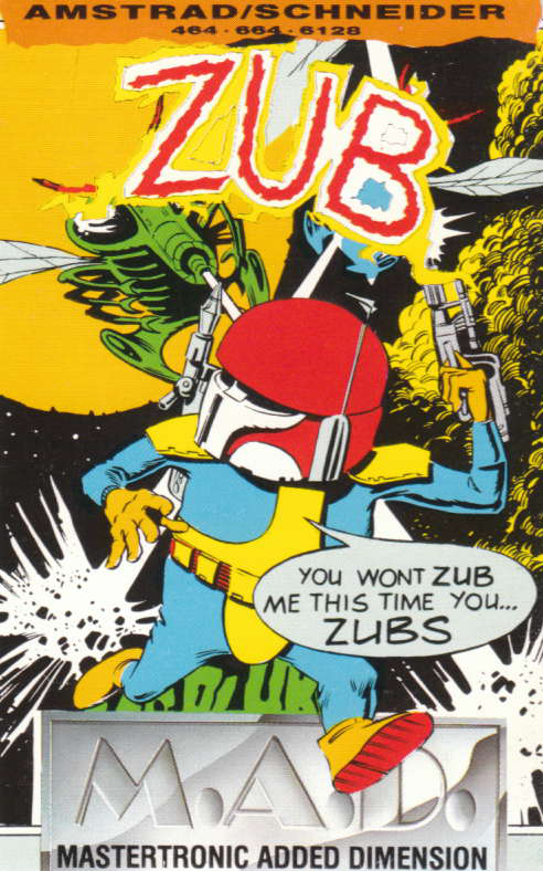 cover of the Amstrad CPC game Zub  by GameBase CPC