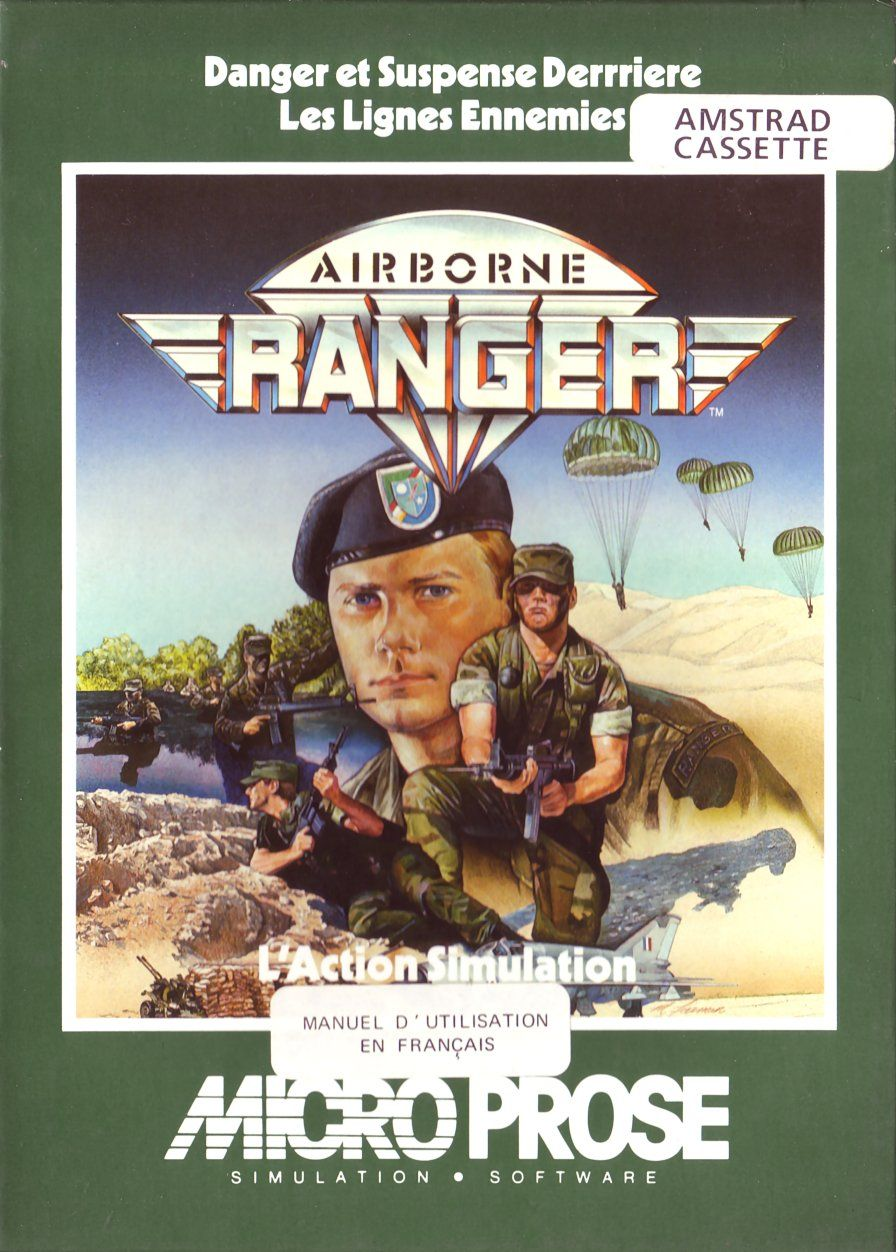cover of the Amstrad CPC game airborne_ranger by Mig