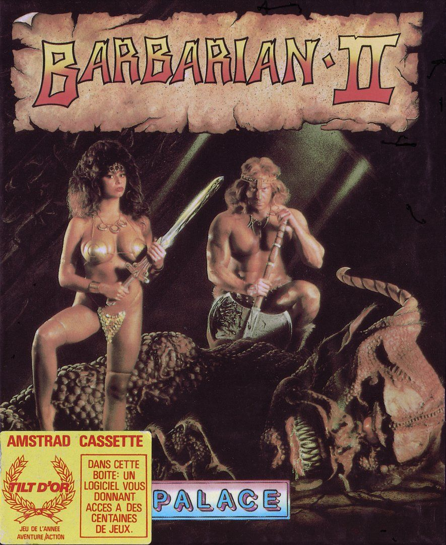 cover of the Amstrad CPC game barbarian_ii by Mig
