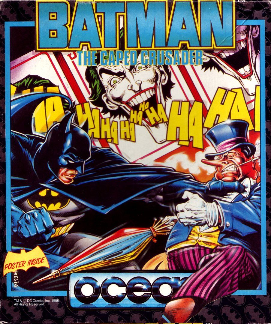 cover of the Amstrad CPC game batman_the_caped_crusader by Mig