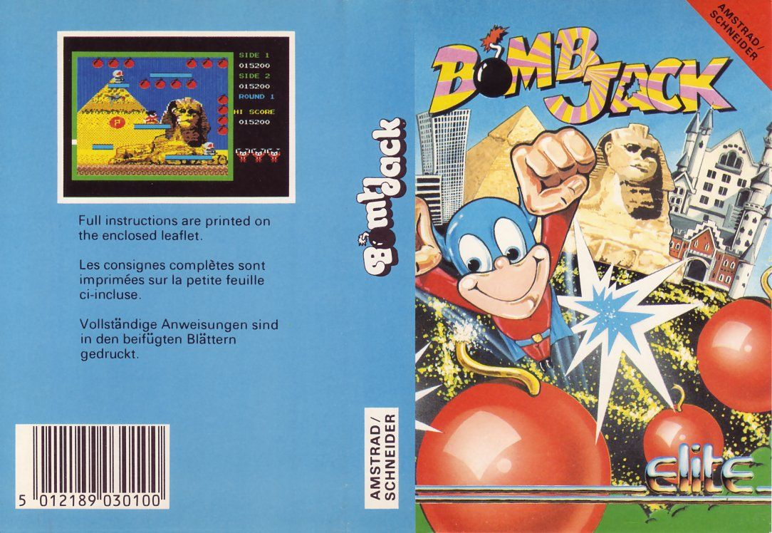 cover of the Amstrad CPC game bomb_jack by Mig