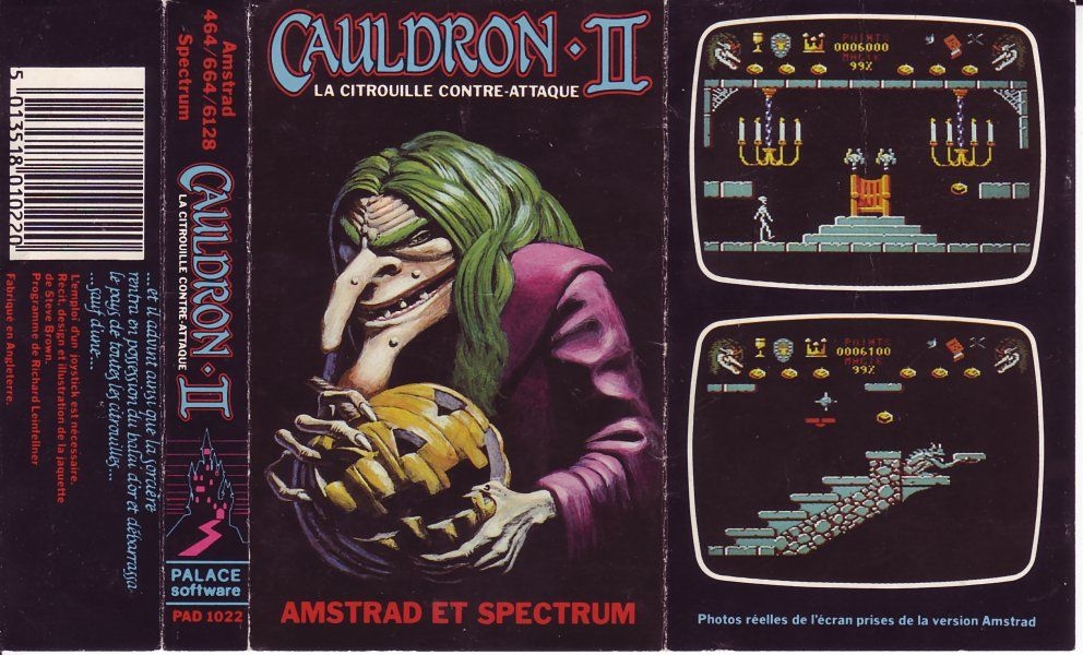 cover of the Amstrad CPC game cauldron_ii by Mig