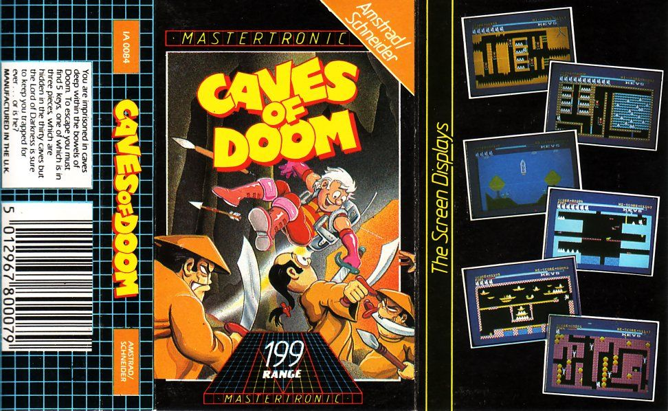 cover of the Amstrad CPC game caves_of_doom_(the) by Mig