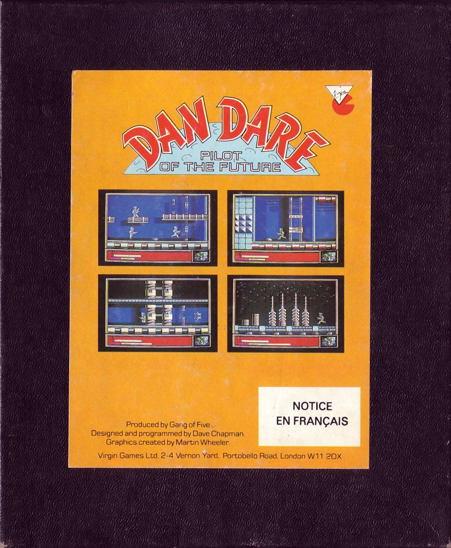 cover of the Amstrad CPC game dan_dare by Mig