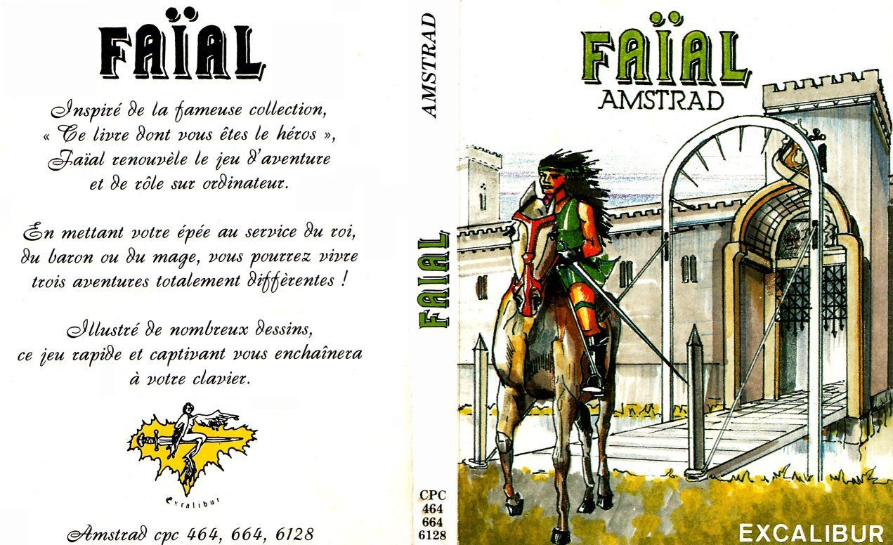 cover of the Amstrad CPC game faial by Mig