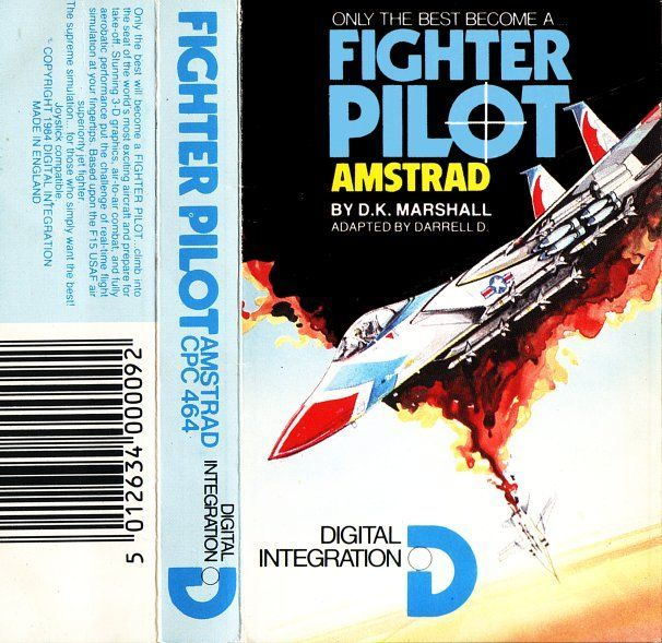 cover of the Amstrad CPC game fighter_pilot by Mig