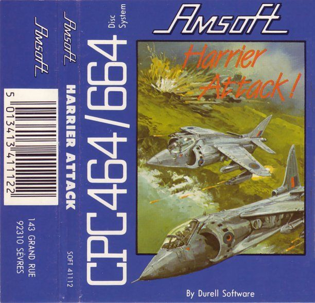 cover of the Amstrad CPC game harrier_attack by Mig