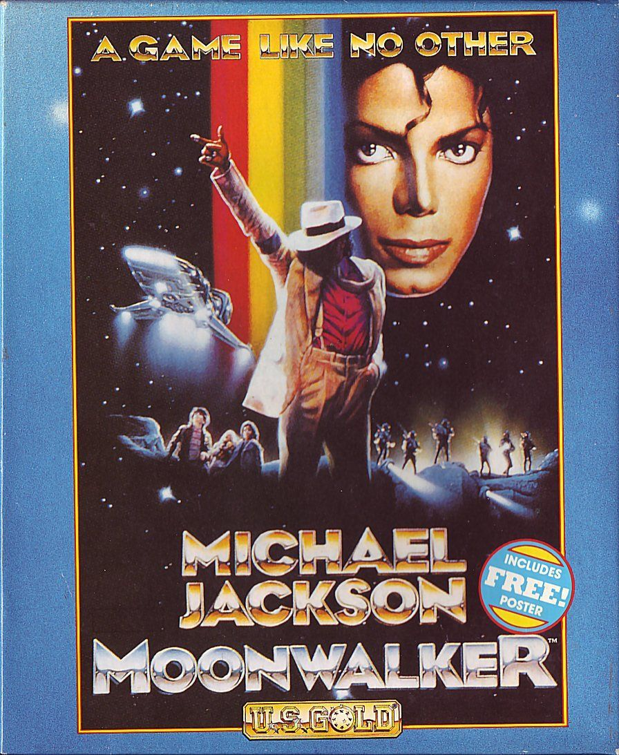 cover of the Amstrad CPC game moonwalker by Mig