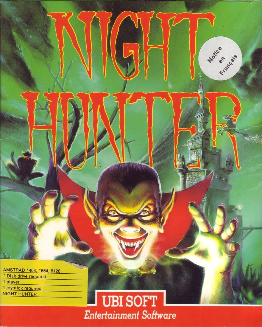 cover of the Amstrad CPC game night_hunter by Mig