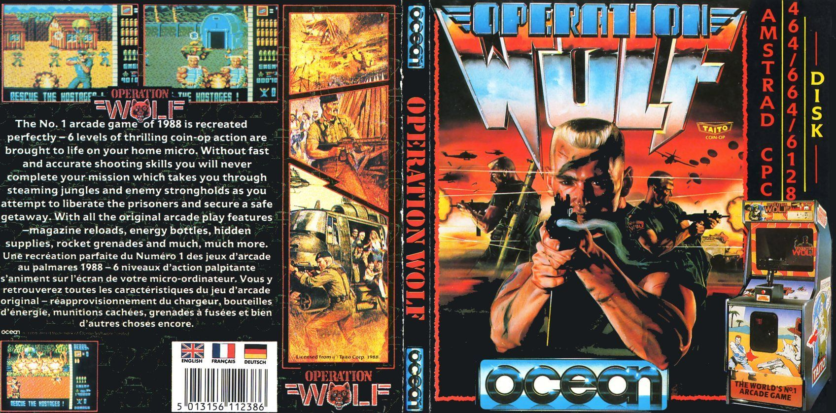 cover of the Amstrad CPC game operation_wolf by Mig