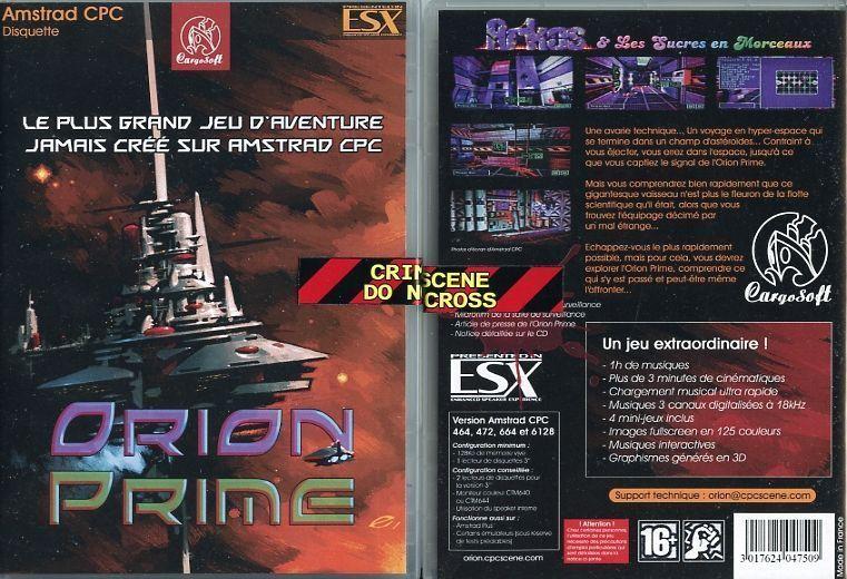boite d'Orion Prime