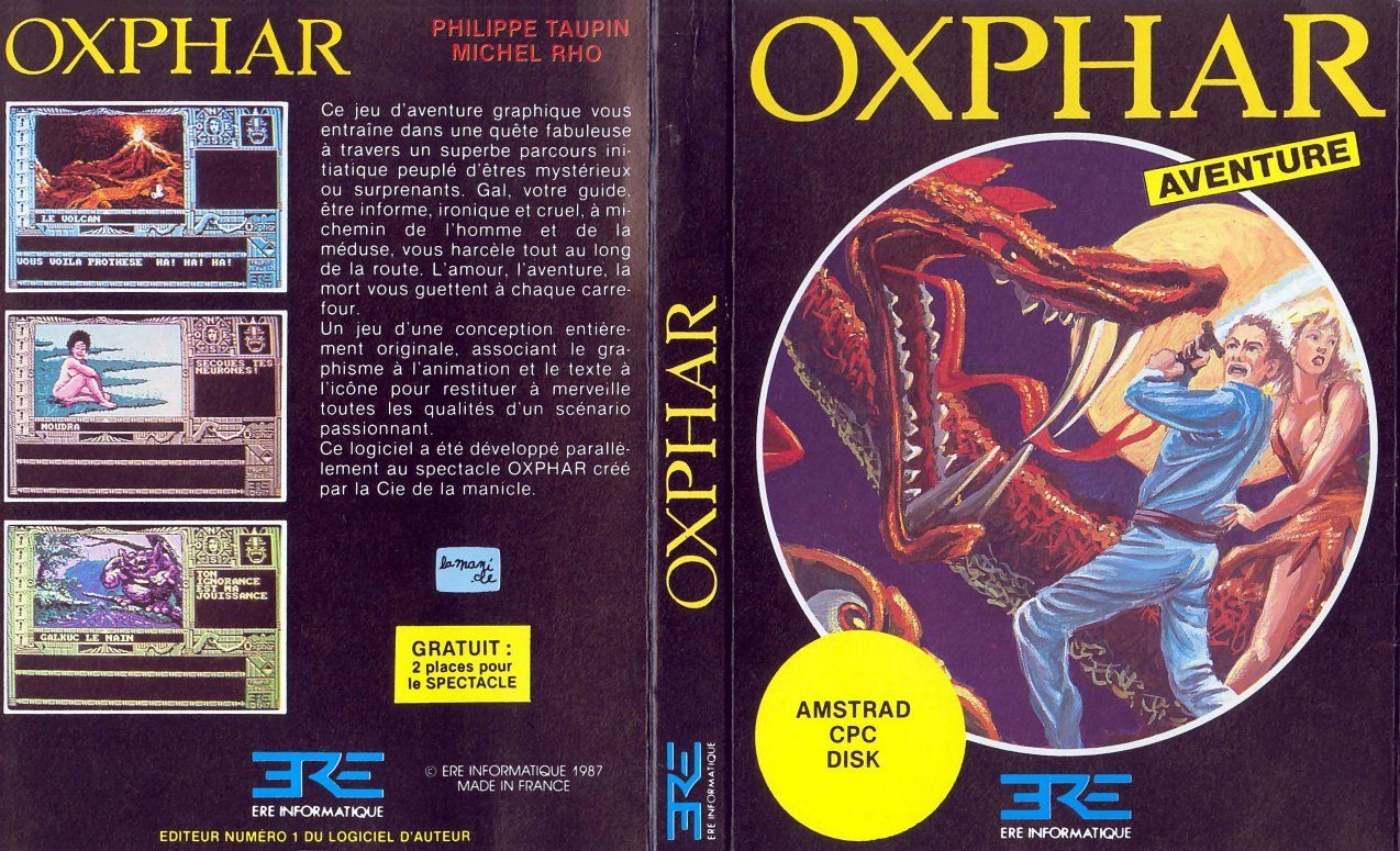 cover of the Amstrad CPC game oxphar by Mig