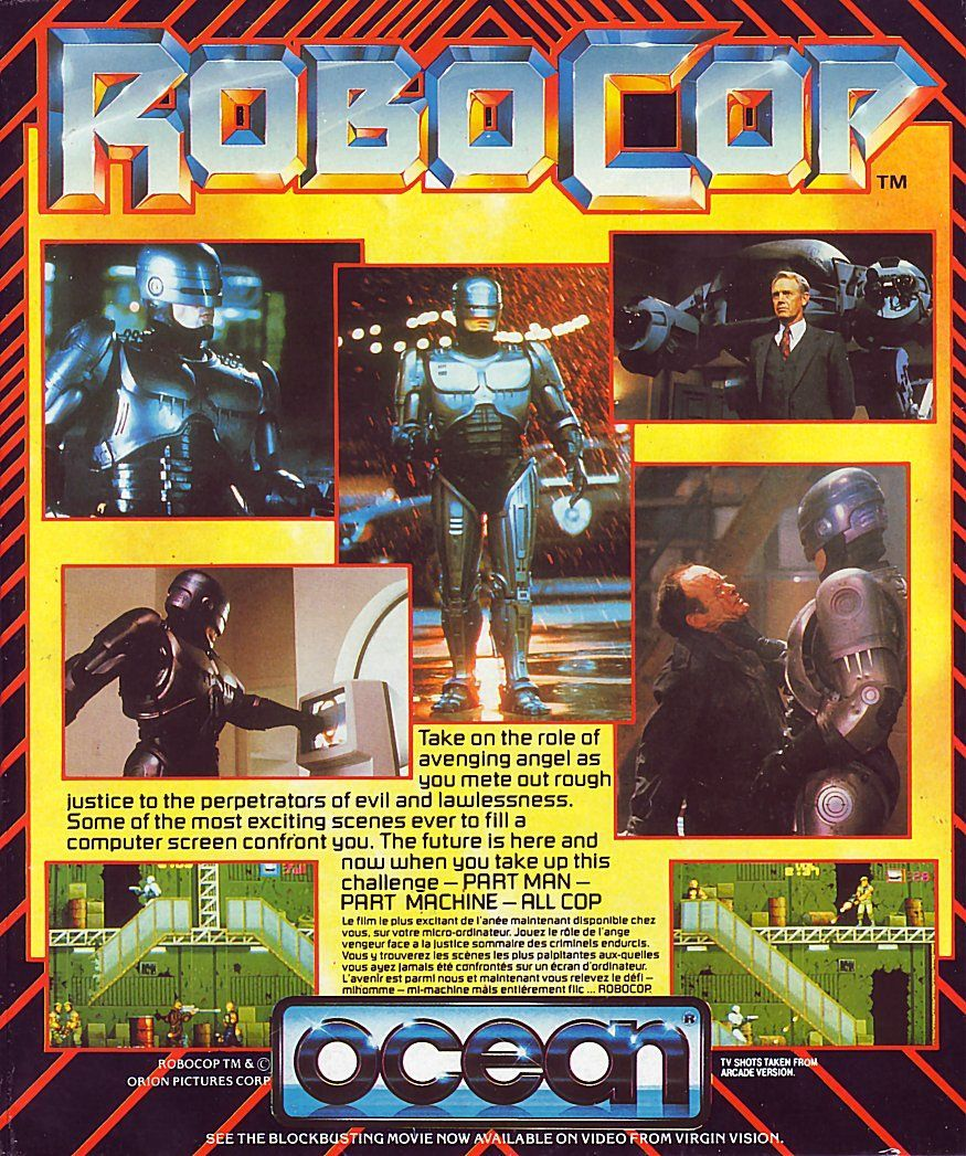 cover of the Amstrad CPC game robocop_2 by Mig