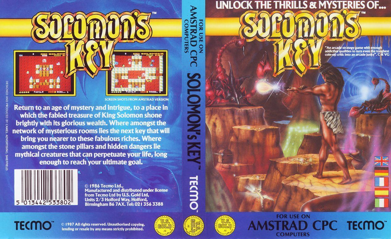 cover of the Amstrad CPC game solomon_s_key by Mig