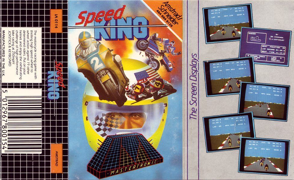 cover of the Amstrad CPC game speed_king by Mig