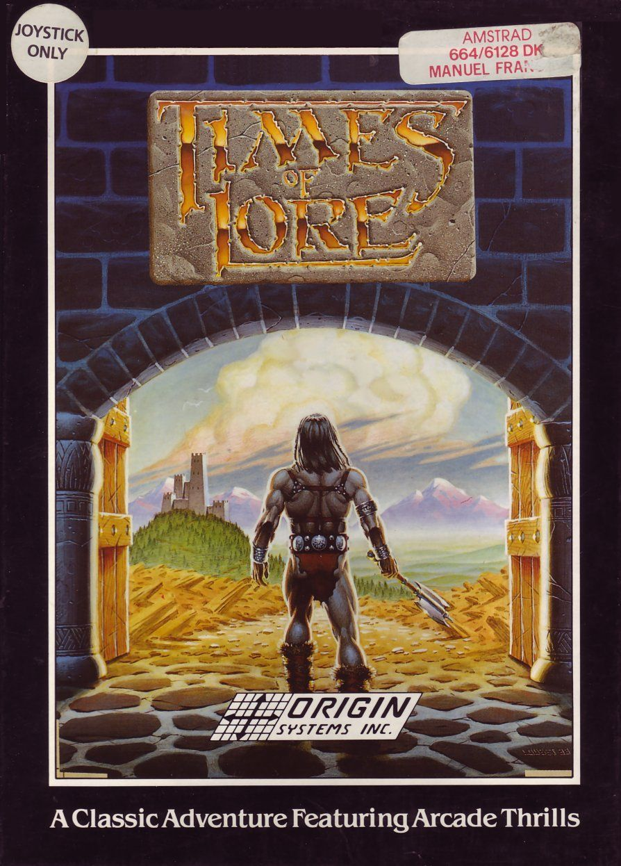 cover of the Amstrad CPC game times_of_lore by Mig