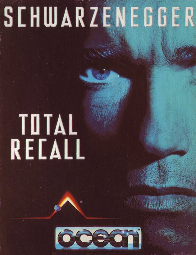 cover of the Amstrad CPC game total_recall by Mig