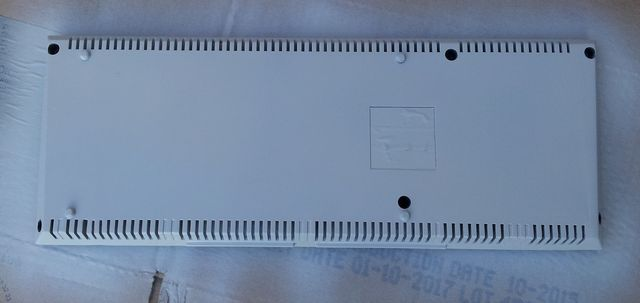 façade dessous de l'Amstrad CPC 464 après ponçage