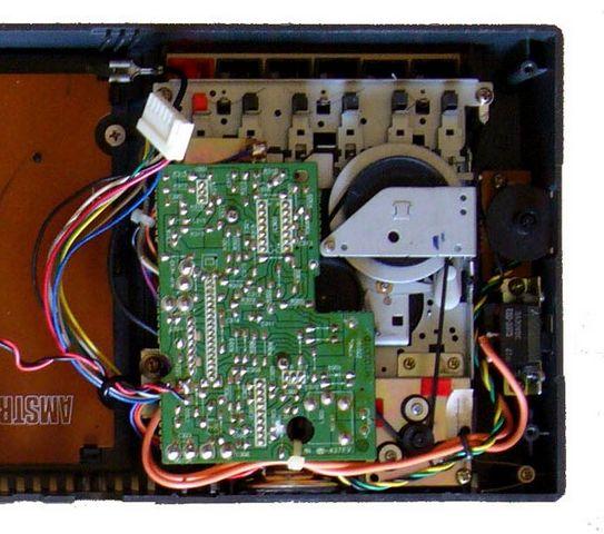 électronique du lecteur cassette de l'Amstrad CPC 464, 1 sur 2