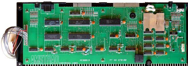 carte mère de l'Amstrad CPC 464, 1 sur 2