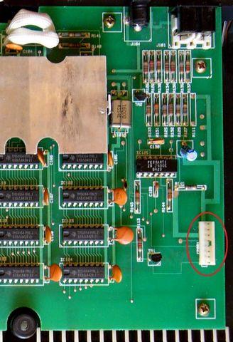 carte mère de l'Amstrad CPC 464, 2 sur 2