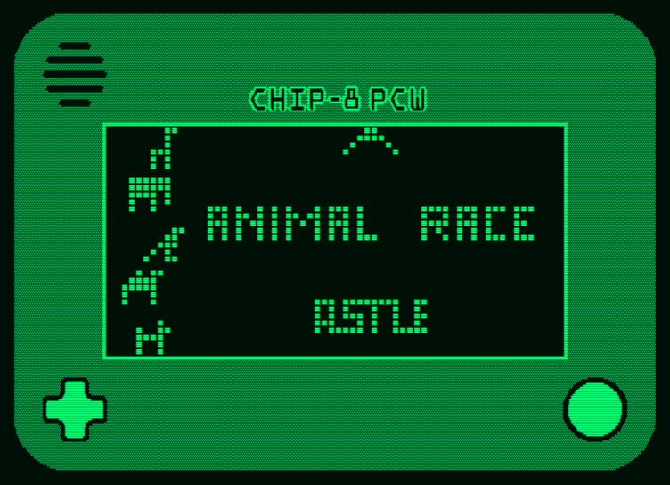 Chip-8 emulation on Amstrad PCW