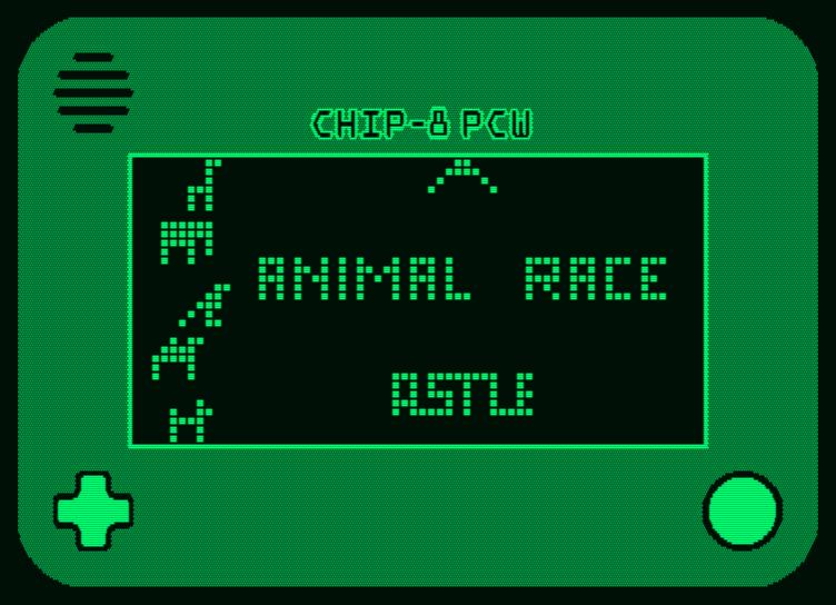 émulation de Chip-8 sur Amstrad PCW