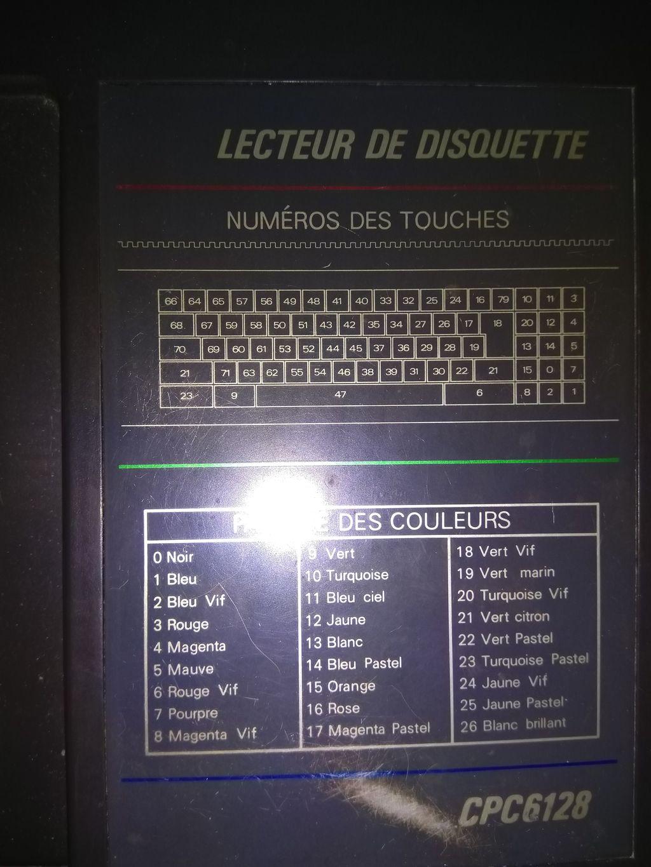 memento Amstrad CPC 6128
