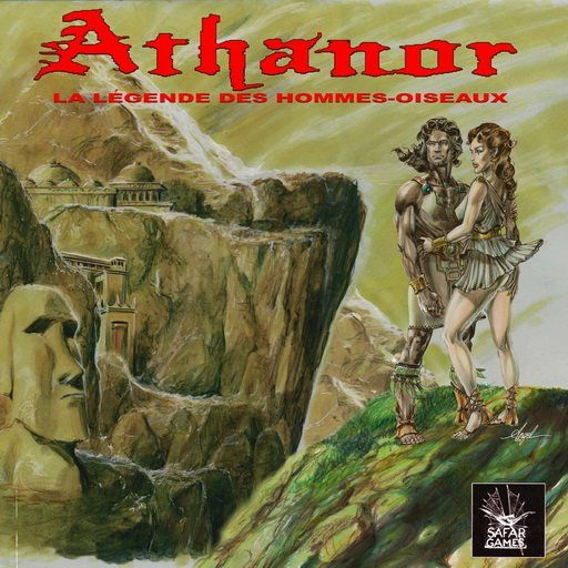 illustration of the graphical adventure game Athanor 2 by Eric Safar
