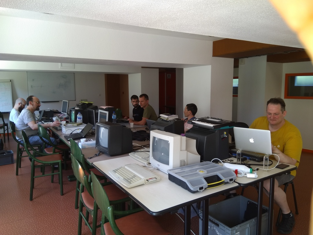 photo of the Amstrad CPC Reset 30 meeting at Coutances