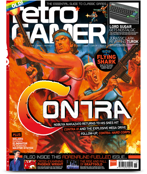 Retro Gamer magazine for the 50 years of history of the Amstrad company