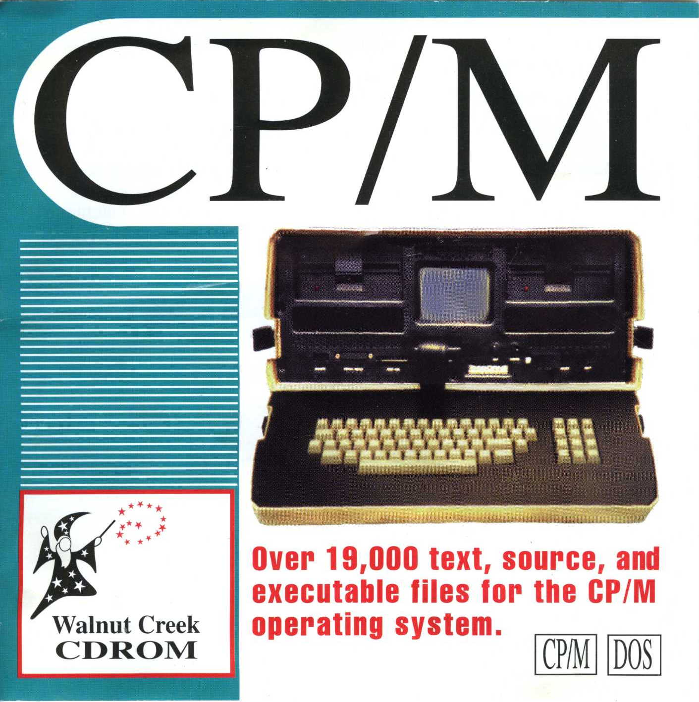 couverture avant du Walnut Creek CPM CD-ROM